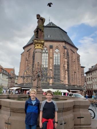 Heiliggeistkirche. Heidelberg, Germany.