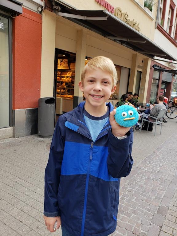 Donut in Heidelberg, Germany