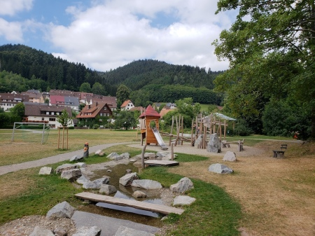 Playground in the Black Forest, Germany