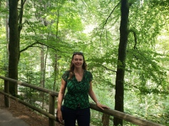 Path to Triberg Waterfalls, Germany
