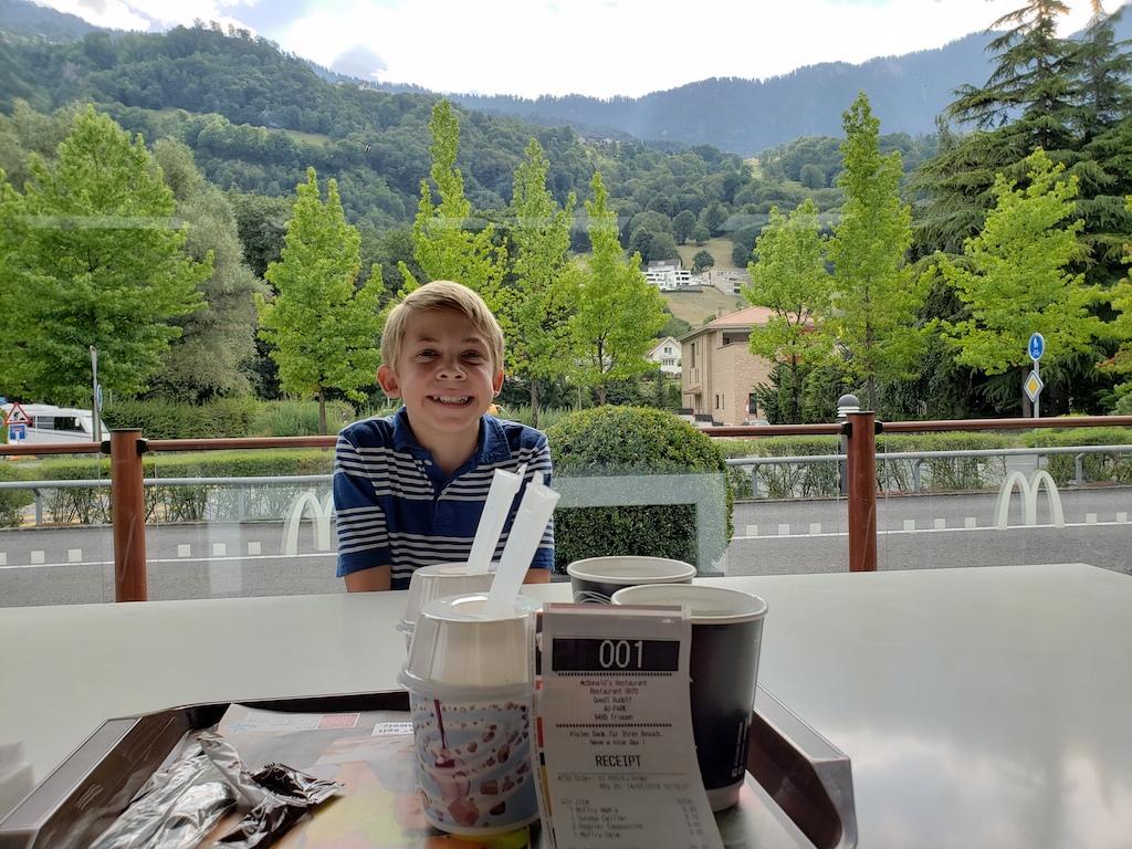 Liechtenstein McDonald's