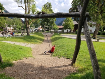 Playground in Oberammergau, Germany