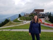 Top of Hahnenkammbahn, Kitzbühel, Austria